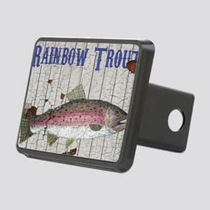 Rainbow Trout Rectangular Hitch Cover