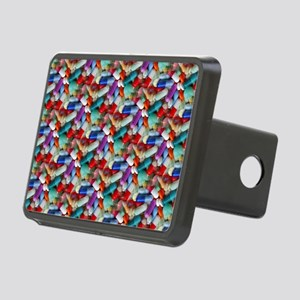 drugs pills Rectangular Hitch Cover