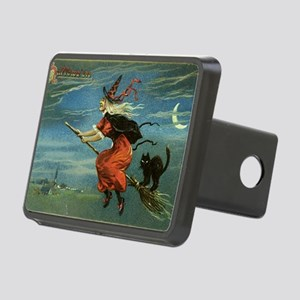 Halloween Witch Rectangular Hitch Cover