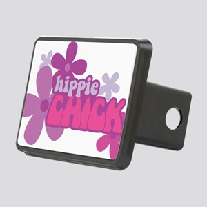 Hippie Chick Rectangular Hitch Cover