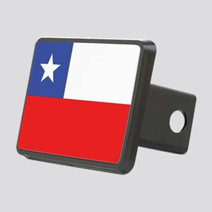 Flag of Chile Rectangular Hitch Cover