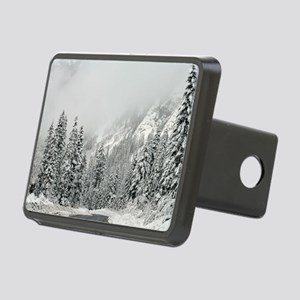 Winter Wonderland Rectangular Hitch Cover