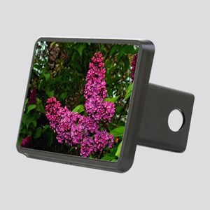 Lilac Bush Rectangular Hitch Cover