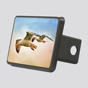 Flying Seagulls Rectangular Hitch Cover