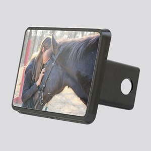 A Horse Is The Cure Rectangular Hitch Cover
