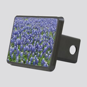 Bluebonnets Rectangular Hitch Cover
