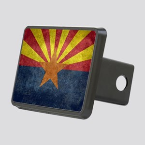 Arizona the 48th State - v Rectangular Hitch Cover