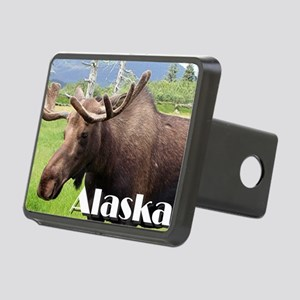 Moose from Alaska, USA Rectangular Hitch Cover