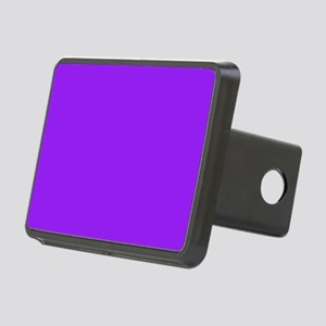 Neon Purple Solid Color Rectangular Hitch Cover