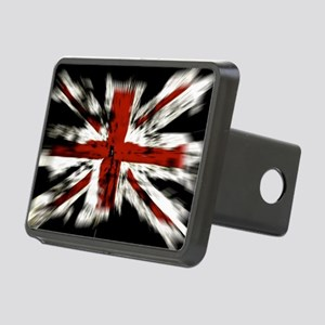 UK Flag England Rectangular Hitch Cover