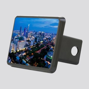 night Ho Chi Minh city Rectangular Hitch Cover