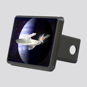 Blue Gas Giant Rectangular Hitch Cover