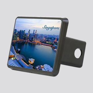 Singapore_5x3rect_sticker_ Rectangular Hitch Cover