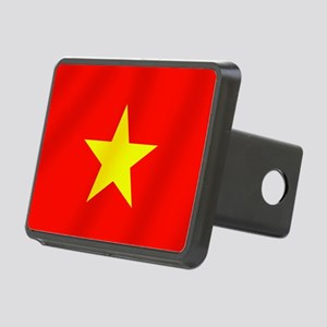 Flag of Vietnam Rectangular Hitch Cover