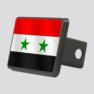 Flag of Syria Rectangular Hitch Cover