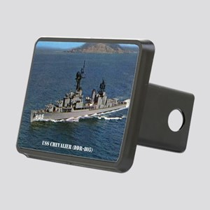chevalier ddr postcard Rectangular Hitch Cover
