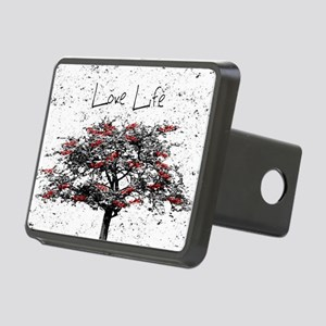 Love Life Rectangular Hitch Cover