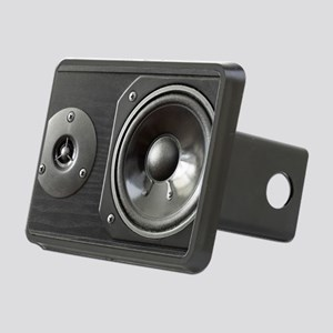 Speaker look a like art Rectangular Hitch Cover