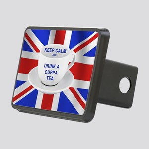 Keep Calm and Drink a Cupp Rectangular Hitch Cover