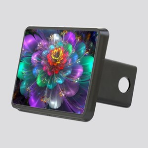 Color in Bloom Rectangular Hitch Cover