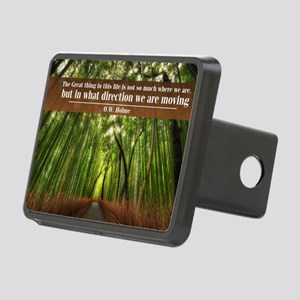 The Great thing in this li Rectangular Hitch Cover