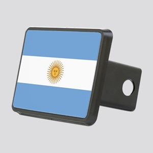 ARGENTINA FLAG Rectangular Hitch Cover