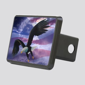 freedom eagle  Rectangular Hitch Cover