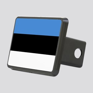 Flag of Estonia Rectangular Hitch Cover