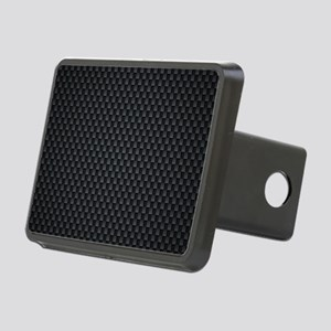 Carbon Mesh Pattern Rectangular Hitch Cover