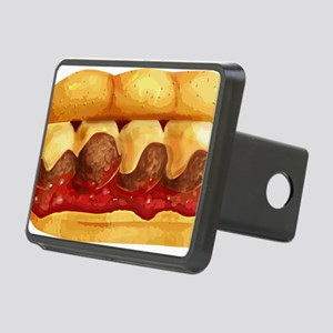 Meatball Sub Rectangular Hitch Cover