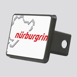 nurburgring map real Rectangular Hitch Cover