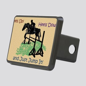 Fun Hunter/Jumper Equestri Rectangular Hitch Cover