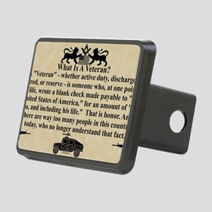 VET car magnet copy Rectangular Hitch Cover