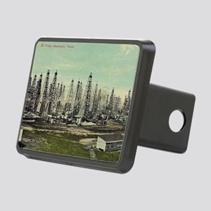 Oilfield, Beaumont Texas Rectangular Hitch Cover