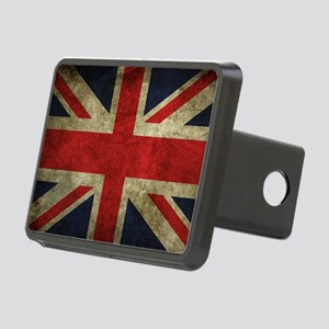 Grunge Flag Of England Hitch Cover
