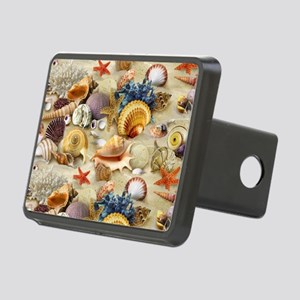 Sea Shells Rectangular Hitch Cover