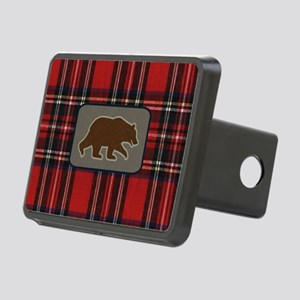 grizzlytoiletrybag Rectangular Hitch Cover