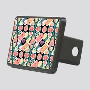 Sushi Pattern Rectangular Hitch Cover