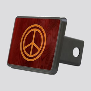 woody-peace-OV Rectangular Hitch Cover