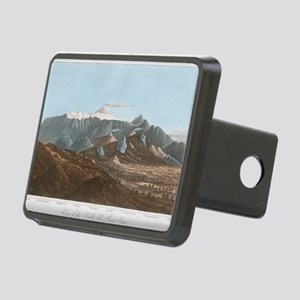 Mount Etna, 19th century Rectangular Hitch Cover