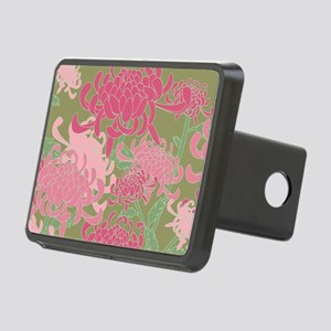 Chrysanthemums Rectangular Hitch Cover