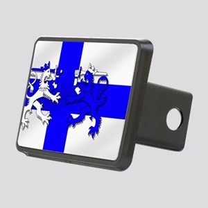 Finland Lion Flag Rectangular Hitch Cover
