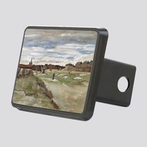 Vincent van Gogh - Blanchi Rectangular Hitch Cover