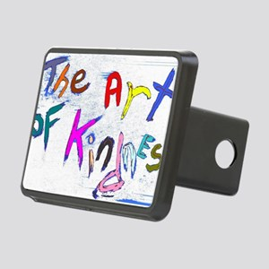 the art of kindness Rectangular Hitch Cover