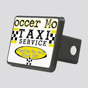 Soccer Mom Taxi Service Rectangular Hitch Cover