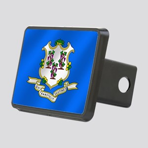 Flag of Connecticut Hitch Cover