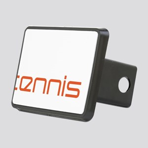female tennis player Rectangular Hitch Cover