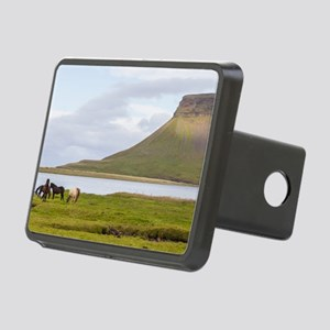 Icelandic Horses Vesturlan Rectangular Hitch Cover