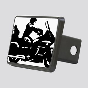 goldwing biker Rectangular Hitch Cover