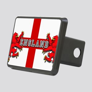England Lion Flag Rectangular Hitch Cover